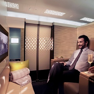 Naprosté soukromí ve vlastním apartmánu nabízí Etihad Airways