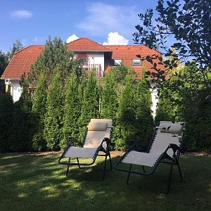 Luxus na zahradě v Třeboni
