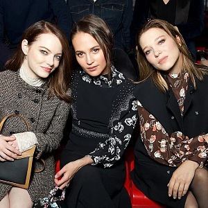 Emma Stone, Alicia Vikander, Léa Seydoux