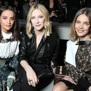 Alicia Vikander, Cate Blanchett, N. Vodianova