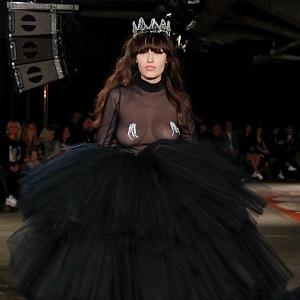 Vanda Janda v roli modelky