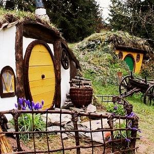 Hobití domečky v Orlických horách