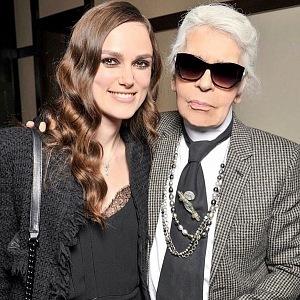 Karl Lagerfeld a Keira Knightley