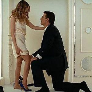 Chvíle kdy Božský žádal Carrie o ruku botami od Manolo Blahnika.