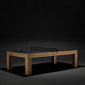The luxury table tennis table