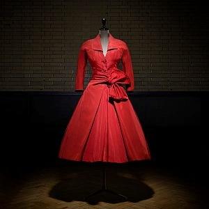 Hedvábné šaty Haute Couture FW 1955
