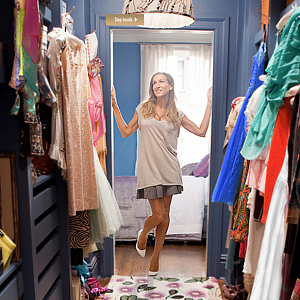 Carrie and her amazing clothes
