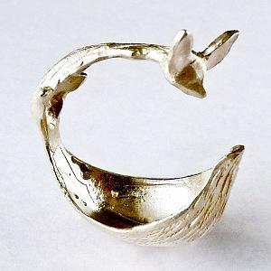 prsten Lure liška obtočená stříbrný