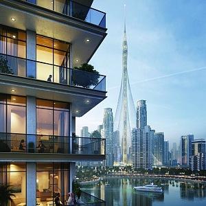 Creek Tower, budoucí nová dominanta Dubaje