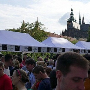 Microbrewery Festival at Prague Castle