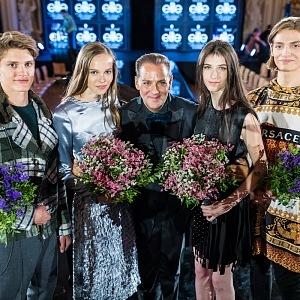 Saša Jány with last year winners