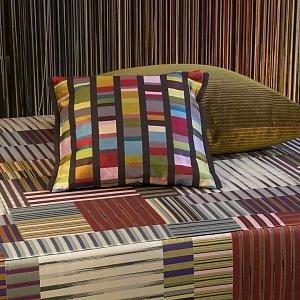 Decorative pillow, collection STRIPES MOSAIC