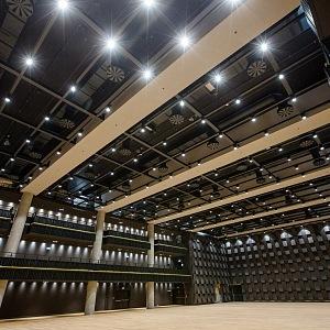 Interior of Forum Karlín