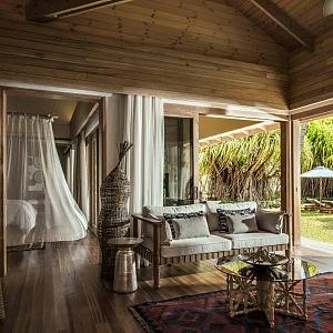 Four Seasons ostrov Desroches a jeho ubytování
