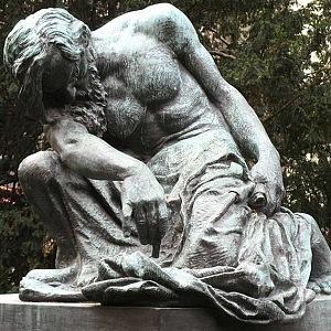František Bílek – Mojžíš, 1905