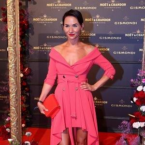 Sandra Nováková - dress Elisabetta Franchi