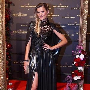 Veronika Chmelířová - dress Beata Rajská