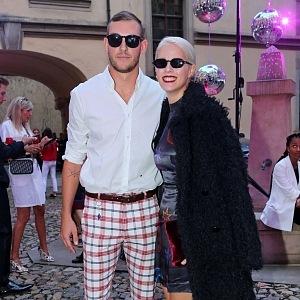 Terezie Kovalová with boyfriend