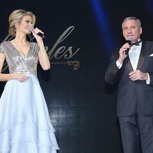 Iveta Vítová and Jan Čenský