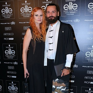 Iva Pazderková s kadeřníkem Michalem Zapomělem