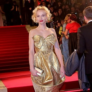 Jana Plodková - šaty Vivienne Westwood