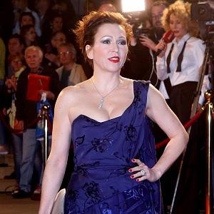 Zuzana Stivínová - šaty Vivienne Westwood, šperky Cartier