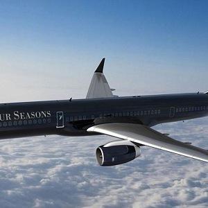 Soukromé letadlo Four Seasons