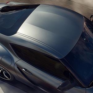 Toyota Supra GR 2019, pohled na střechu