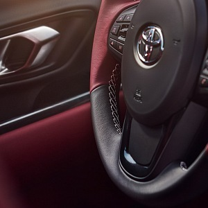Toyota Supra GR 2019, volant