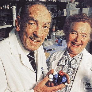 Gertrude Elion a George Hitching