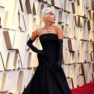 Lady Gaga, red carpet, Oscar