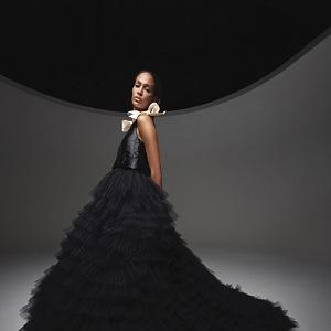 Černé šaty Giambattista Valli Fall 2020 Haute Couture