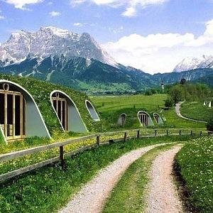 Hobití domky Green Magic Homes