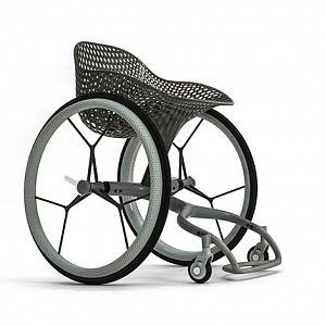 GO křeslo pro vozíčkáře vyrobené 3D tiskem