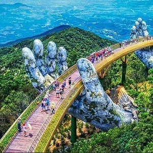 Vietnam Golden Bridge