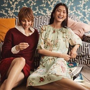 Luxusní ženská kolekce GP & J BAKER X H&M.