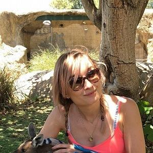 Olga je vášnivá cestovatelka.