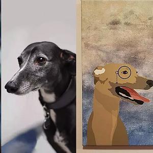 Originální designy s vaším psím kamarádem