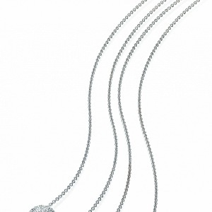 Necklace HALADA with diamonds