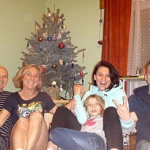 Hana a její rodina.
