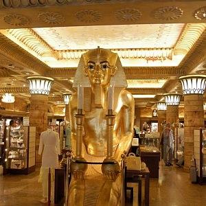 Harrods Egyptský sál