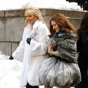 Carrie Bradshaw and Samantha