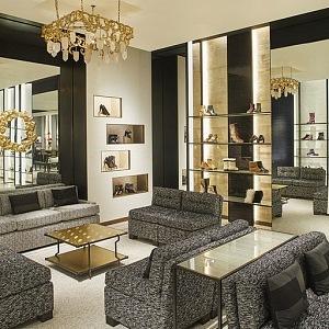 Dokonalý interiér nového butiku Chanel, NY