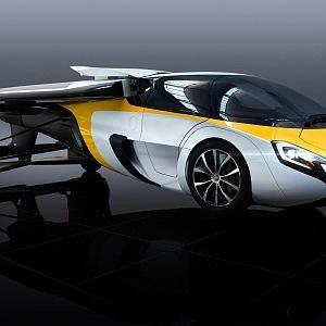 Luxusní design létajícího vozu