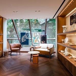 Interiér butiku Hermès