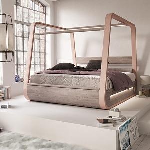 Chytrá postel světlá varianta