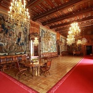 Hluboká Castle, dining room