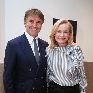 Brunello Cucinelli a Lenka Vejvalková