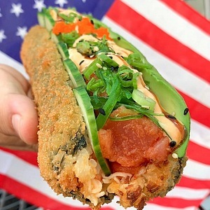Sushi Hotdog