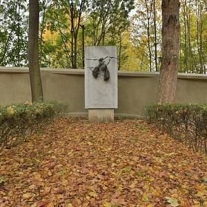 Ďáblický hřbitov, památník obětem komunismu